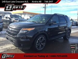 2015 Ford Explorer Sport HTD/CLD SEATS, 2-PANEL SUNROOF, BLUE...