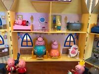 Peppa Pig house and school