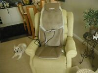 HOMEDICS SHIATSU MAX BACK and SHOULDER MASSAGER. IN EXCELLENT CONDITION, AS ONLY USED ONCE.