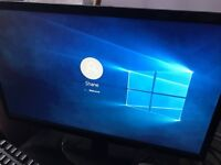 Dell optiplex 780 sff 5gb Kingston ram. Acer 21.5 inch HD monitor. Keyboard and mouse