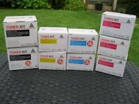 13 NEW Toners for Samsung CLP and CLX series laser printers