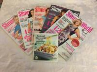 Slimming world magazines and recipe booklet