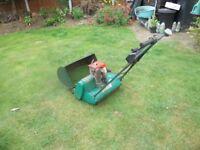 """Petrol lawn mower - 17"""" Qualcast cyclinder"""