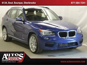 2014 BMW X1 xDrive28i + M PACKAGE + MAGS 19 M + TOIT PANORAMI