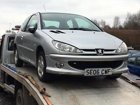 Peugeot 206 1.4 8v 2006 For Breaking