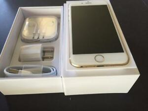 iPhone 6 64GB GOLD LIKE  NEW  WITH BOX AND BRAND NEW ACCESSORIES FACTORY UNLOCKED ( INTERNATIONAL )