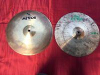Wokingham Drum Sales - Hi Hat Cymbals - Meinl Pearl