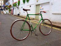 Custom built Peugeot single speed vintage bike VERY LARGE
