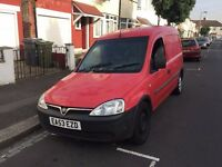 2003 VAUXHALL COMBO VAN 1.7 DIESEL MANUAL RED MOT HPI CLEAR QUICK SALE