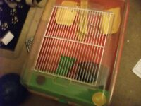 2 syrian hamster cages for sale
