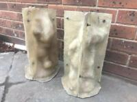 Garden ornament mould of Teddies for the pair great sellers