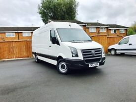 Vw Crafter Cr35tdi 2.5tdi 125bhp 6 speed manual lone wheel base full history service from new