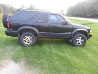 2000 blazer for parts