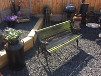 Cast Iron Bench- can deliver