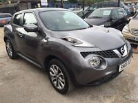 Nissan Juke 1.5 dCi Tekna 5dr (start/stop)£12,950 p/x welcome FREE WARRANTY, HPI CLEAR
