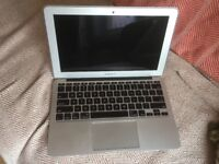 """11"""" MacBook Air for parts/ refurbishment, screen in great condition"""