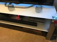 Next - The Collection - White tv stand