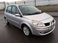 2008 Renault SCENIC dyn vvt 1.6 , mot - february 2017 only 79,000 , service history , ,focus,astra