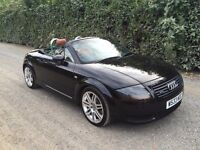 AUDI TT 225 ROADSTER QUATTRO CONVERTIBLE BASEBALL LEATHER **CHEAP CAR**