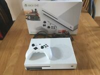 Xbox one s 6 games like new