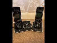 BT 6500 Digital telephone & answering machine with 2nd handset & charging base