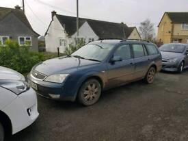 Ford mondeo 55 plate *spares or repairs*
