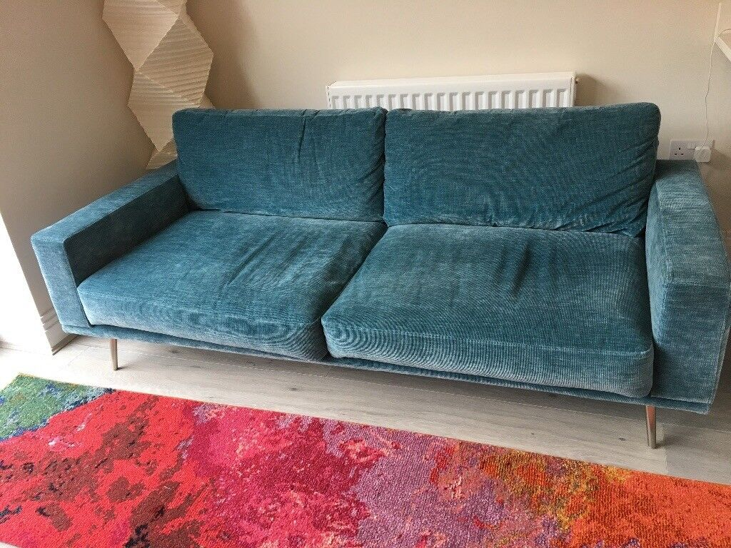Boconcept Carlton 2 5 Seater Sofa In Napoli Turqoise For Sale In Bookham Surrey Gumtree
