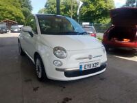 Fiat 500 0.9 TwinAir Lounge (s/s) 3dr, CHEAP INSURANCE!! Perfect for new Drivers, Warranty, Fainance