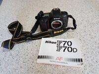 Nikon F70 camera body