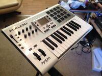 M-Audio Axiom AIR 25 25-Key USB MIDI Keyboard ControlleR