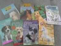 A bundle of books great for girls 6-10 yrs