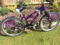 Ladies/Girls 18 gear mountain bike 24 inch wheels