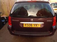 Peugeot 307 sw 2006 1.6 Hdi 7 seater