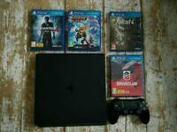 *Perfect Condition* SONY PS4 with games