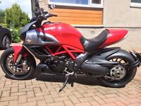 Ducati Diavel Red 2011 Revised Price