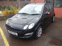 54 PLATE SMART FOR FOUR LOW MILAGE NEW MOT INDIVIDUAL CAR SOMETHING DIFFERENT