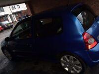 Renault Clio Sport, blue, 2004, real bargain