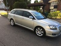 TOYOTA AVENSIS- 2007 MODEL-DIESEL-Estate -