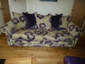 Astons Fitzroy Grand Sofa, 5years frame and spring guarantee remaining