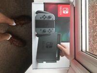 Brand new Nintendo switch grey console