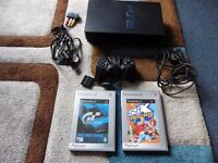 sony ps2 console in good condition