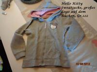 ~ Hello Kitty Sweatjacke, Gr.122 ~ Nordrhein-Westfalen - Wegberg Vorschau