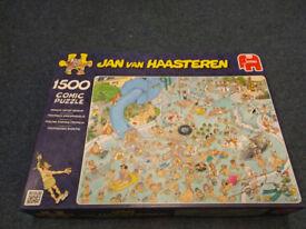 Jan Van Haasteren 1500 piece comic puzzle - Whacky Water World