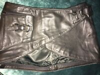 1980s LEATHER FILLE UTILITY BELT