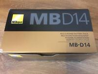Nikon MB-D14 Battery Grip - Brand New/Boxed
