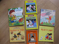 8 CHILDRENS WELSH BOOKS for reading practice at home
