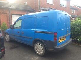 Vauxhall Combo very reliable and economical great little van genuine reason for sale