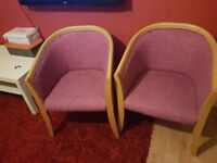 Pair of lovely comfy chairs