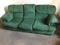 Green Sofa Set