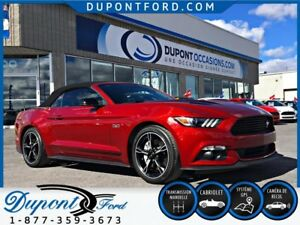 2017 Ford MUSTANG CONVERTIBLE GT PREMIUM California - Taux a par